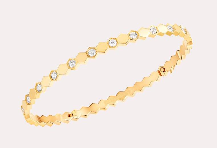 欧美大牌18K金手镯玫瑰金白金黄金钻石手镯个性定制MISSG高档珠宝生产厂家来图来样加工