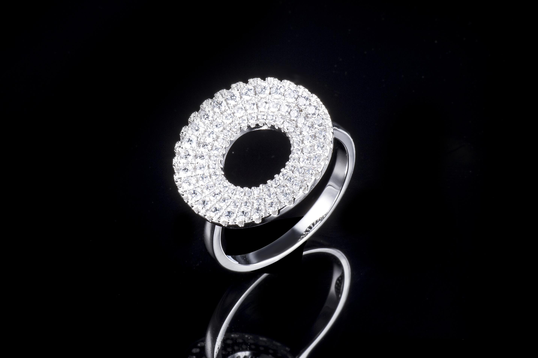 925纯银戒指时尚瑞丽指环