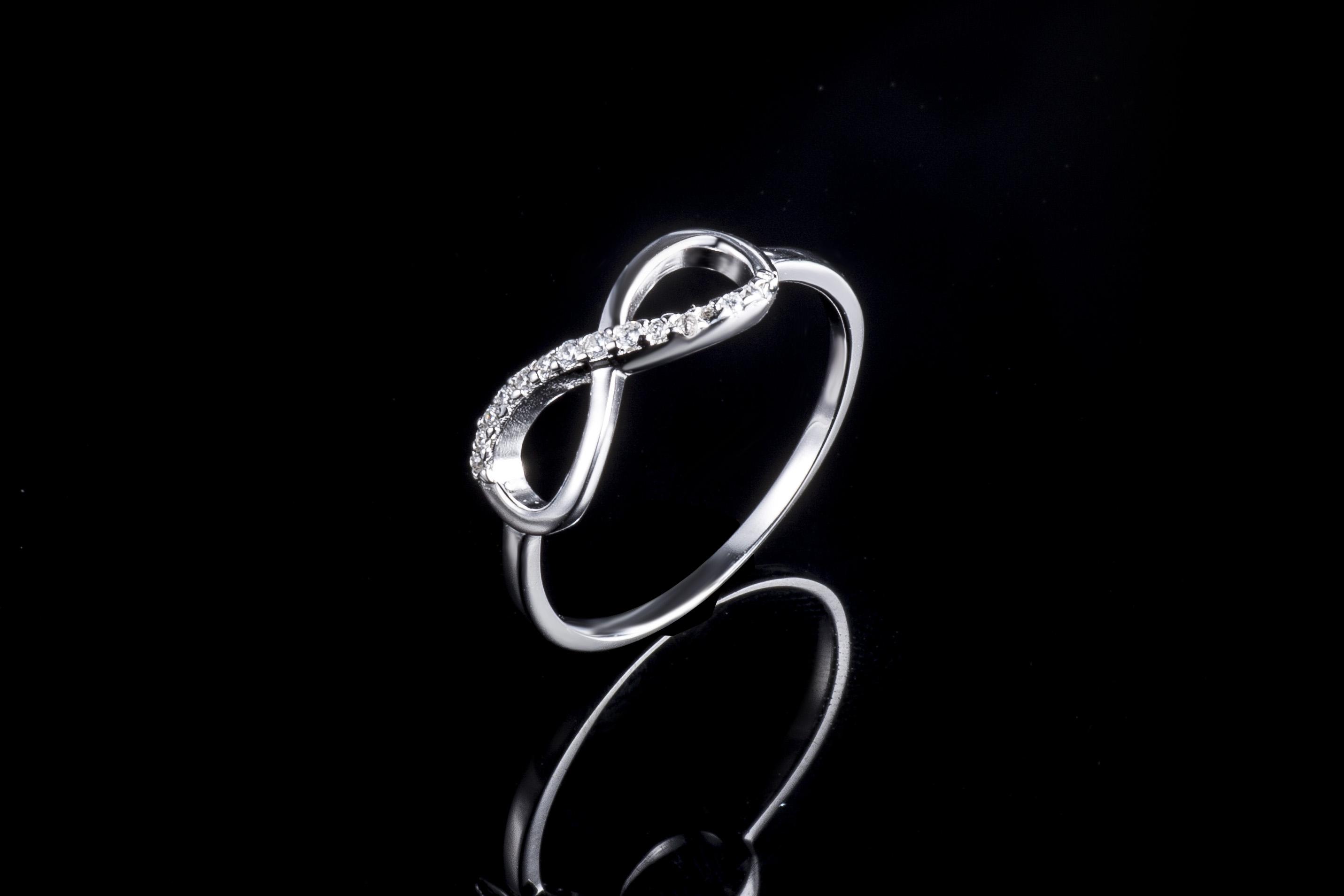 925纯银时尚简约戒指手饰代加工