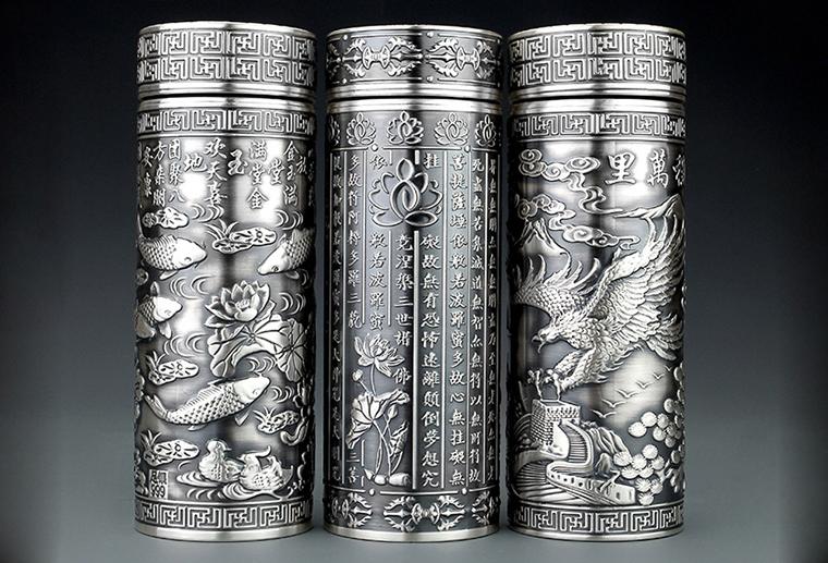 S999纯银保温杯 广州MISSG珠宝厂家直销外贸首饰银饰品 来图来样生产加工