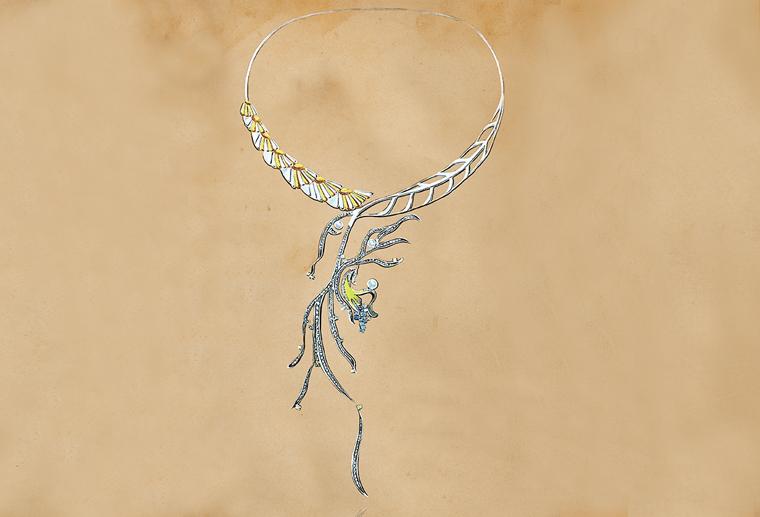 原创设计师李秀慧作品给情书回信925银饰项链定制MISSG珠宝俱乐部